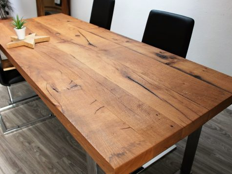 Tabletop from Old Solid Oak