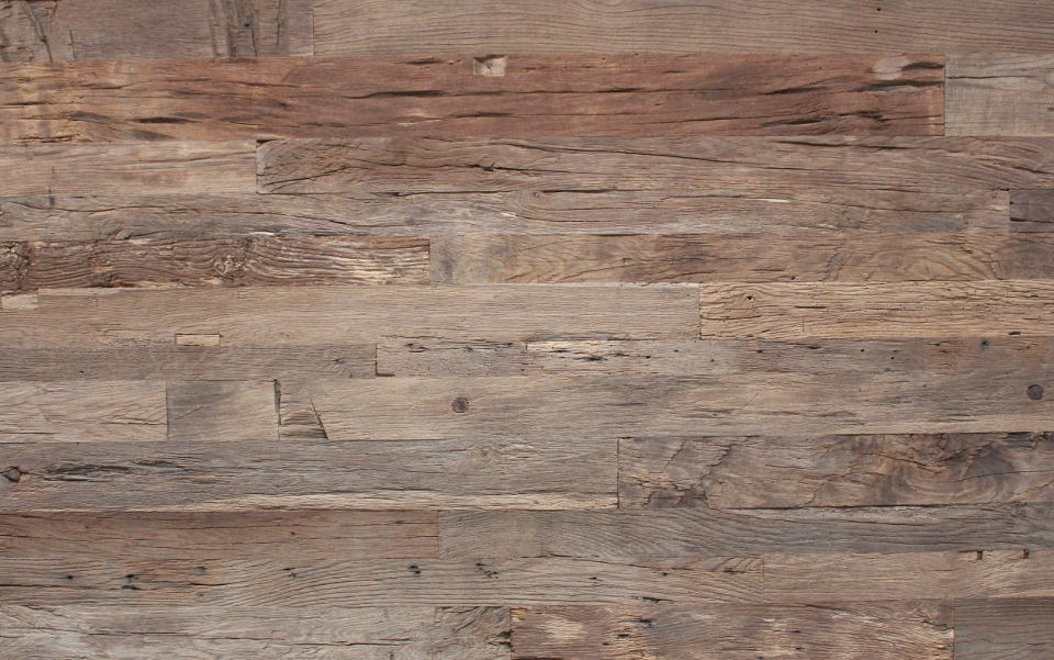 Wall covering old oak