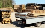 Truck With Reclaimed Wood