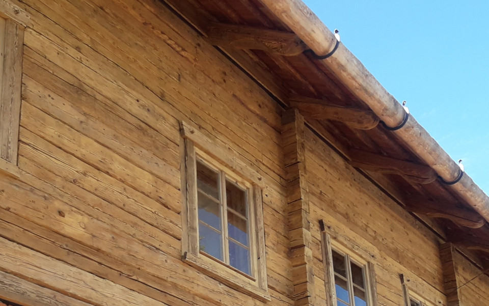 House With Reclaimed Wood Wallpanels