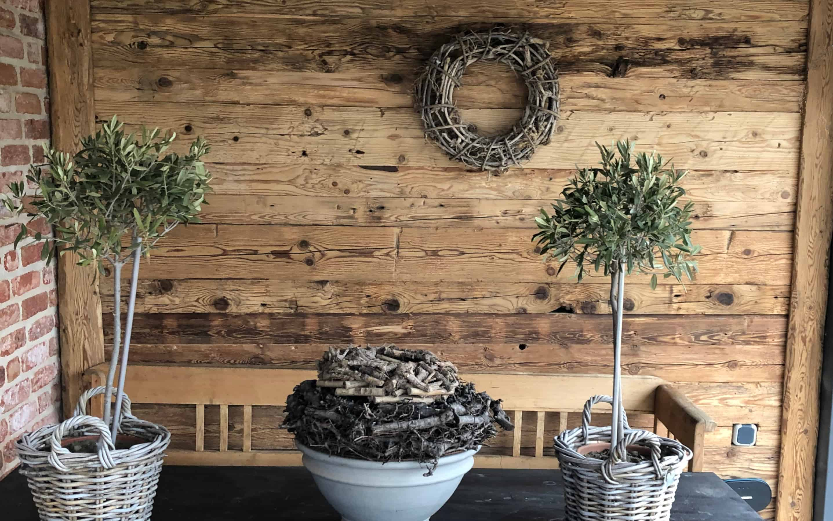 Wallpanel From Reclaimed Wood